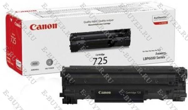 Тонер-картридж Canon 725 3484B005