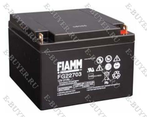 Батарея / аккумулятор FIAMM 12 FG 27 IN-AK-FG-22703