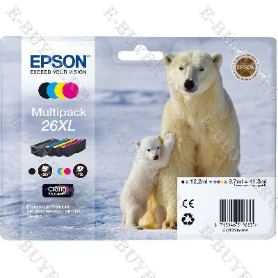 Набор Epson 26XL C13T26364010