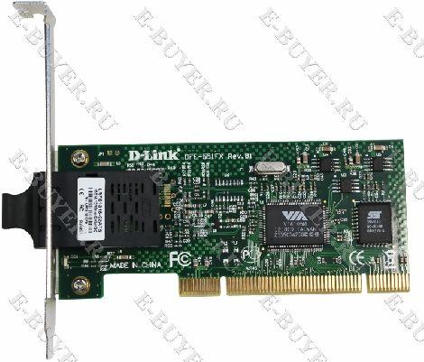 Сетевой адаптер Fast Ethernet D-Link DFE-551FX/B1A для шины PCI
