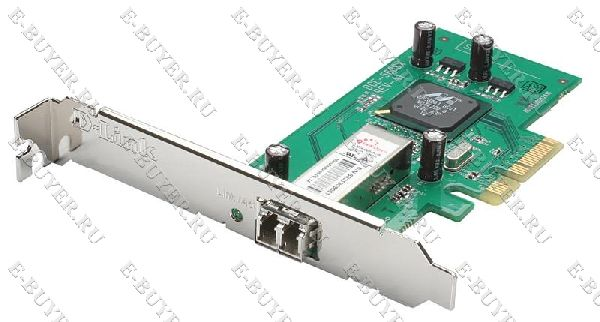 Сетевой адаптер 1000Base-SX Gigabit Ethernet D-Link DGE-560SX для шины PCI Express x4