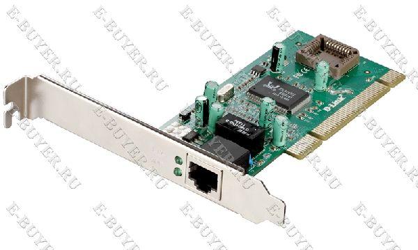 Сетевой адаптер Gigabit Ethernet D-Link DGE-530T для шины PCI