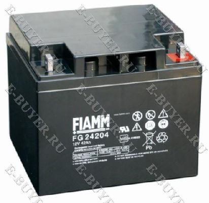 Батарея / аккумулятор FIAMM 12 FG 42 IN-AK-FG-24204