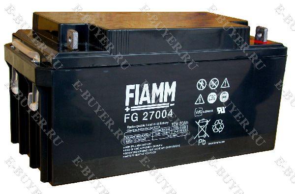 Батарея / аккумулятор FIAMM 12 FG 70 IN-AK-FG-27004