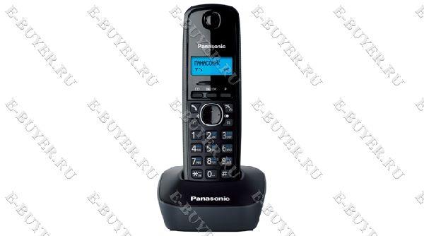 Телефон Dect Panasonic (серый) KX-TG1611RUH