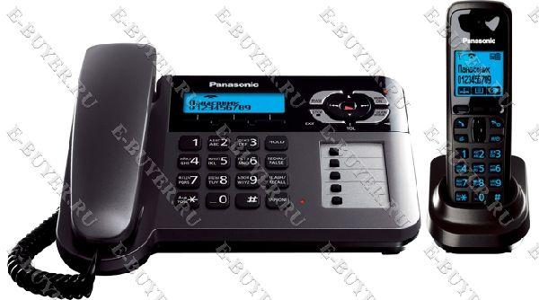 Телефон Dect Panasonic KX-TG6461RUT