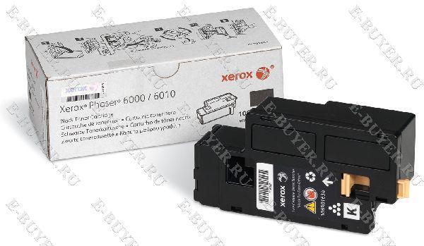 Тонер-картридж (2т.) Xerox для Phaser 6000/6010/ WC 6015 106R01634