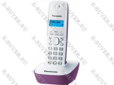Телефон Dect Panasonic (сиреневый) KX-TG1611RUF