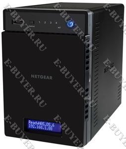 Домашнее хранилище ReadyNAS Netgear RN10400-100EUS на 4 SATA/SSD диска (без дисков)