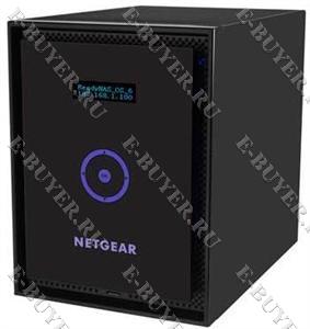 Хранилище ReadyNAS универсальное на 6 SATA/SSD диска (без дисков) RN31600-100EUS