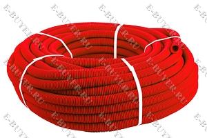 Кожух для трубы 16 (диаметр 25) красный SK 40025к