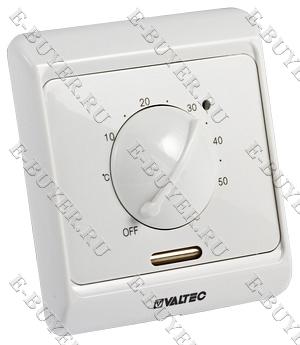 Термостат комнатный (НЗ сервопривод–отопл., НО-охл. конд.) VT.AC601.0.0