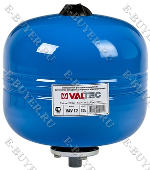 Бак расширительный для ГВС и ХВС 12л. Синий VT.AV.B.060012