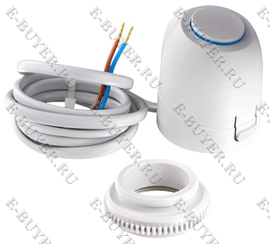 Электротермический аналоговый сервопривод, питание 24 В (нормально закрытый) VT.TE3041.0.024