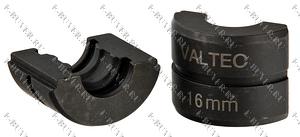 Вкладыш 16 для ручного пресс-инструмента Valtec  стандарт TH VTm.294.0.16