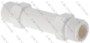 Вставка ремонтная для счетчика воды 3/4 (105 мм, нейлон) VTp.789.105.05