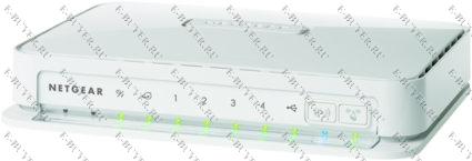 Беспроводной маршрутизатор 802.11n 300 Мбит/с WNR2200-100RUS